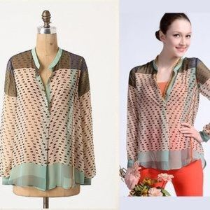 Konrad & Joseph Sheer Blouse